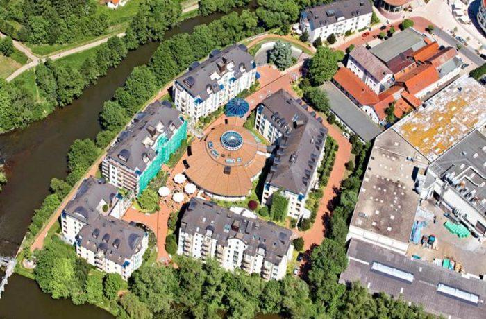 VILA VITA Rosenpark, Hotelanlage Marburg